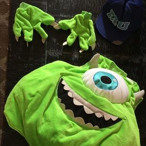 Monsters INC mike costume toddler 4